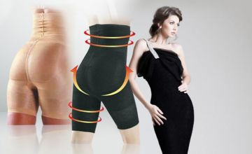 £5.99 instead of £29.99 (from Bellap) for a pair of body-contouring spandex pants - choose black or beige and save 80%