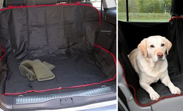 £4.99 instead of £14.99 (from Black Feather) for a waterproof car boot and car seat liner - save 67%