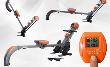 £89 instead of £199.99 (from Games & Fitness) for a 2-in-1 rower and resistance workout unit - save 55%