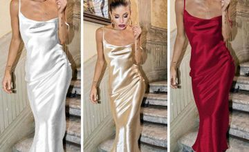 £19.99 instead of £39.99 (from DomoSecret) for a silky backless slip dress – choose from four colours and save 50%