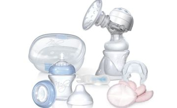 £30 instead of £98.99 (from Dream Price Direct) for an electric breast pump and steriliser kit - save 70%