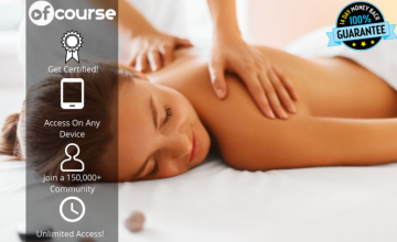 £12 instead of £65 for an online spa massage therapy masterclass - unlimited access! from OfCourse - save 82%