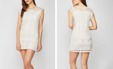 £6.99 instead of £16 (from Cascabelle) for a white lace dress - save 56%