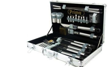 £22 instead of £69.99 for a 20-piece stainless steel bbq set from Direct2Public Ltd - save 69%