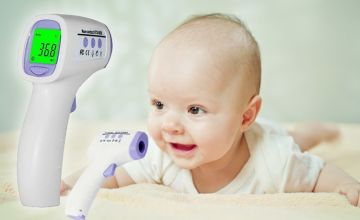 £9.99 instead of £39.90 (from hey4beauty) for a digital infrared baby thermometer - save 75%