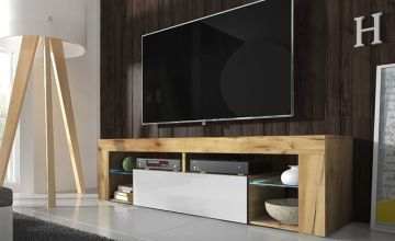 £85 instead of £339 (from Selsey Living) for a Lancaster TV cabinet, or £95 for a TV cabinet with a built-in LED - choose from two colours and save up to 75%