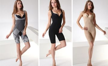 £7.99 instead of £39.99 (from Bellap) for a bamboo one-piece shaper - choose from three colours and save 80%