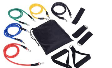 £9.99 instead of £39.99 (from hey4beauty) for an 11-piece resistance band set - save 75%