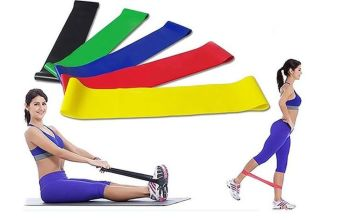 £6.99 instead of £19.99 (from DomoSecret) for a six-pack of resistance exercise bands - save 65%