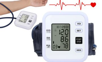 £14.99 instead of £42.90 (from hey4beauty) for a LCD display blood pressure monitor - save 65%