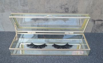 £9 (from Candellight) for a glass trinket eyelash box!