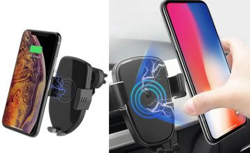 £6.99 instead of £25.99 (from Wow What Who) for a Qi wireless car charger - save 73%
