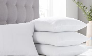 £15.99 instead of £80.99 for four breathable 100% cotton pillows from Direct Warehouse Ltd - save 80%