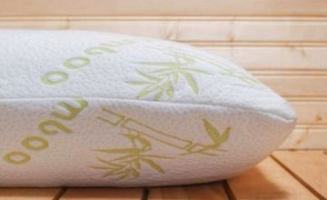 £9.99 instead of £29.99 (from Groundlevel) for a bamboo memory foam pillow, or £18.99 for two pillows - save up to 67%