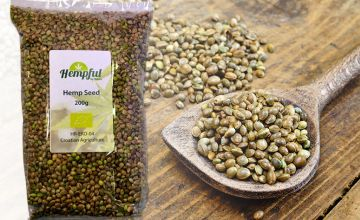 £3.99 instead of £9.99 for 200g of 'hempful' hemp seeds from Forever Cosmetics - save 60%