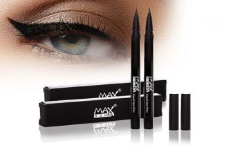 £4.99 instead of £29.98 for two maxdona black liquid eyeliners from Forever Cosmetics - save 83%