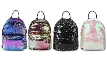 £9.99 instead of £49.99 (from WowWhatWho) for a reversible sequin backpack - choose from four colours and save 80%