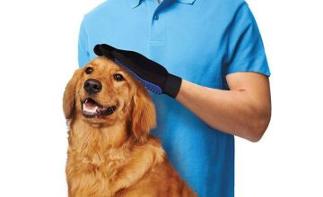 £4.99 instead of £24.99 for a pet grooming glove from London Exchain Store - save 80%