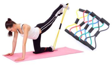 £1.99 instead of £19.99 (from Hey4Beauty) for a fitness resistance band - save 90%