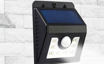 £6.98 instead of £14.99 (from Sure Energy) for a motion-activated solar security light, £12.98 for two lights or £19.98 for four lights - save up to 53%