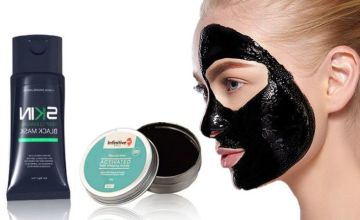 £4.99 instead of £19.98 for a blackhead mask & activated charcoal teeth whitener from Forever Cosmetics - save 75%