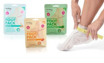 £1 instead of £6.99 (from Forever Cosmetics) for a Derma V10 foot pack, or £3.99 for two packs, £4.99 for three packs, £5.99 for four packs or £6.99 for five packs - saving up to 86%