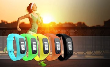 £8.99 instead of £40 a 4-in-1 fitness tracker - choose from five colours from Ugoagogo - save 78%