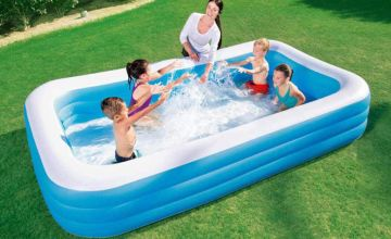 £14.99 instead of £43 (from Direct2Publik) for a small Bestway rectangular swimming pool or £17.99 for a medium pool - save up to 65%