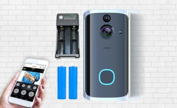 £39 instead of £169.90 (from Maxwe) for a Next Generation HD WiFi security doorbell with two rechargeable batteries and charging pack - save 77%
