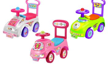£12.99 (from allkindathings) for a push along ride-on toy car!
