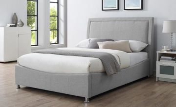 From £199 (from The Furniture Department) for an ottoman fabric bedframe w/ mattress option