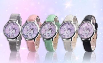 £2.99 instead of £19 (from hey4beauty) for a unicorn themed wrist watch - save 84%