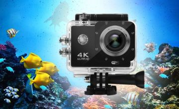 £22 instead of £125 (from Hirix) for a 4K HD 16MP action camera or £34 for a camera and 32GB SD card - save up to 82%