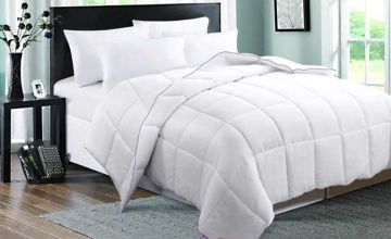 From £29.99 (from Direct Warehouse Limited) for a 12 tog goose feather and down duvet - choose from four sizes!