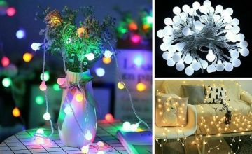 £4.99 instead of £39.99 (from MyBrandLogic) for a set of 3m string lights, or £6.99 for a 6m set, or £7.99 for a 10m set – choose from three colours and save up to 88%