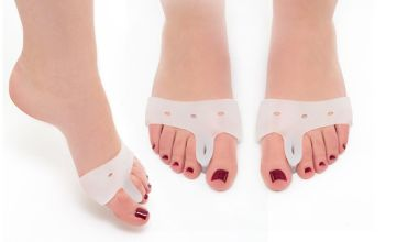 £1.50 instead of £11.99 (from Avant Garde) for a pair of silicone bunion relief toe pads - save 87%