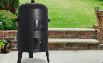 £28.99 instead of £84 (from Direct 2 Publik) for a round smoker charcoal barbeque - save 65%