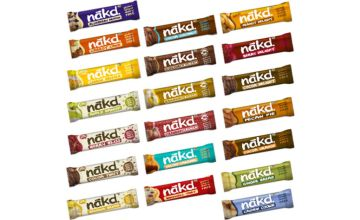 £11.99 instead of £15.99 (from Free From Direct) for a 'Choose Your Favourite' NAKD cereal bar selection - save 25%
