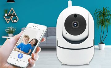£21.99 instead of £79.99 (from Hirix) for a Home Security HD Tracking WiFi IP Camera - save 73%