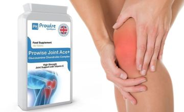 £12 (from Prowise) for a six-month* supply 500mg pack of Glucosamine Chondrotin complex - support your joints