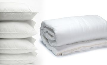 £11.99 instead of £32.99 (from Direct Warehouse) for a single super light 3 tog duvet, £14.99 for a double, £16.99 for a king, or £18.99 for a super king - save up to 64%