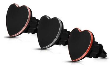 £3.98 instead of £17.99 (from Avant Garde) for a heart-shaped car magnet phone holder –save 78%