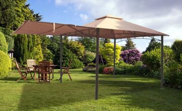 £129 instead of £299.99 (from Garden & Camping) for a 3x3m metal gazebo with awning - save 57%