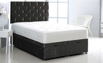 From £349 instead of £684.99 (from Serenity Designs) for a crushed velvet ottoman bed - choose from five sizes and seven colours and save up to 49%
