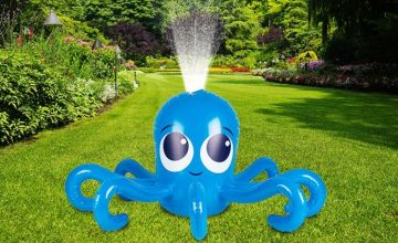 £12 instead of £34.99 (from Groundlevel) for an inflatable octopus water sprinkler game - save 66%