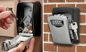 £12 instead of £39.99 (from Litnfeek) for an outdoor wall mounted safe with password lock - save 70%