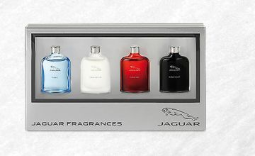 £15.99 (from Jan Kauf) for a men's Jaguar aftershave gift set