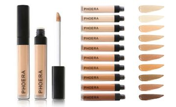 £3.99 (from Forever Cosmetics) for a Phoera cover-up concealer, or £9.99 for set of three - choose from 10 shades!