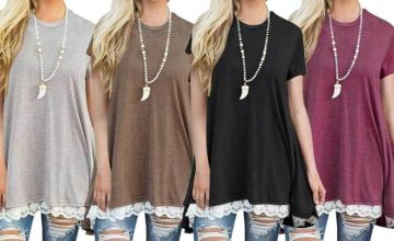 £6.98 instead of £29.99 (from MBLogic) for a casual loose t-shirt dress - save 77%