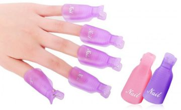 £2.99 instead of £13.99 (from Avant Garde) for a 10 piece nail gel remover tool - choose pink or purple and save 79%